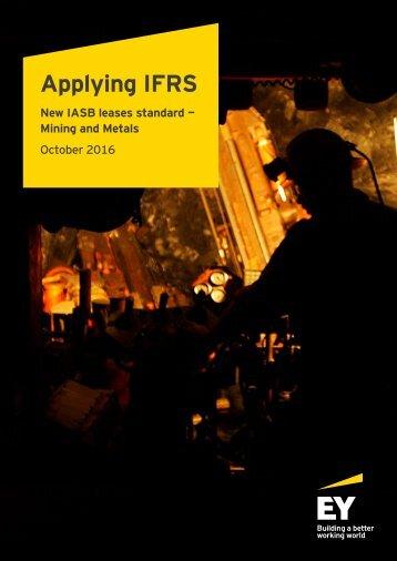 Applying IFRS