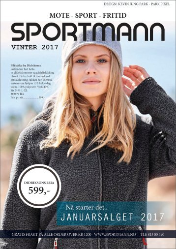 2597fc9e Sportmann Januarsalget 2017