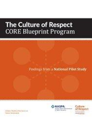 The Culture of Respect CORE Blueprint Program