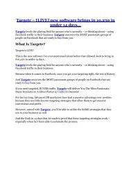 Targetr Review and $30000 Bonus - Targetr 80% DISCOUNT