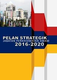 PELAN STRATEGIK JPA 2016-2020