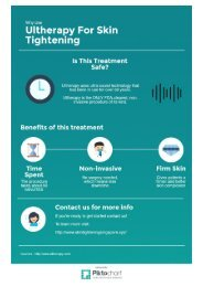 Singapore Ultherapy Benefits Infographic