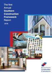 The first Annual Southern Construction Framework Report