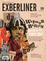 EXBERLINER Issue 156, January 2017