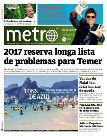 2017 reserva longa lista de problemas para Temer