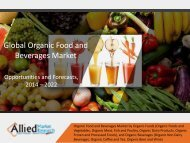 Organic Food and Beverages Market