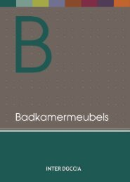 InterDoccia catalog 2017 - Badkamermeubels