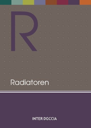 InterDoccia catalog 2017 - Radiatoren
