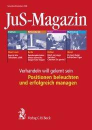 Positionen beleuchten und erfolgreich managen - Verlag C. H. Beck ...