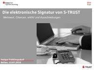 Digitale Signaturen - MyBOOM Internet GmbH
