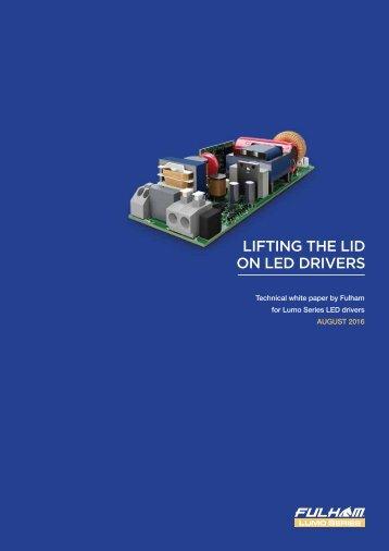 LIFTING THE LID ON LED DRIVERS