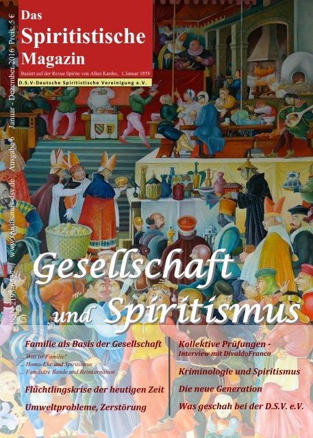 Das Spiritistische Magazin, Ausgabe 6