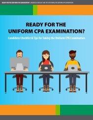 READY FOR THE UNIFORM CPA EXAMINATION?
