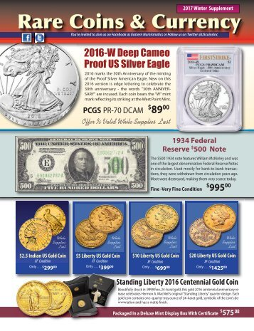 Rare Coins & Currency Rare Coins & Currency