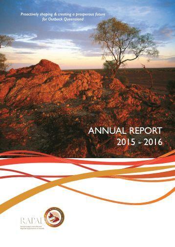 ANNUAL REPORT 2015 - 2016