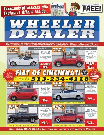 Wheeler Dealer Issue 53, 2016