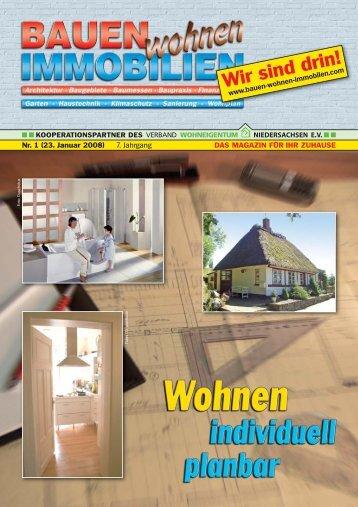 Wirsinddrin! - Bauen Wohnen Immobilien