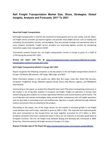 rail freight transportation market in europe Europe rail freight transportation market growth of 536% cagr by 2020 - analysis, technologies & forecast report 2016-2020 .