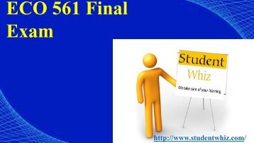 ECO 561 Final Exam: ECO 561 - If a firm in a purely competitive industry