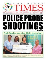 Caribbean Times 64th Issue - Wednesday 28th December 2016