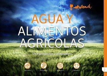 Agua y alimentos agrícolas