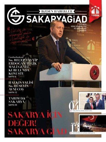 SakaryaGiad Dergi KASIM 2016