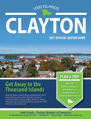 2017 Clayton Chamber Visitor Guide