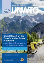 Global Report on the Transformative Power of Tourism