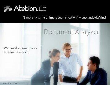 Document Analyzer