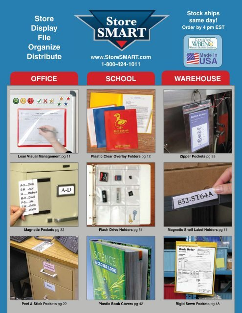 4 x 6 Photos VP201-25 25-Pack StoreSMART Clear Plastic Binder Page for Samples Swatches Top Load