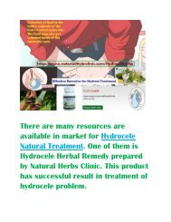 Hydrocele, Causes, Symptoms and Natural Treatment