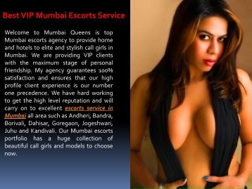 Best VIP Mumbai Escorts Service