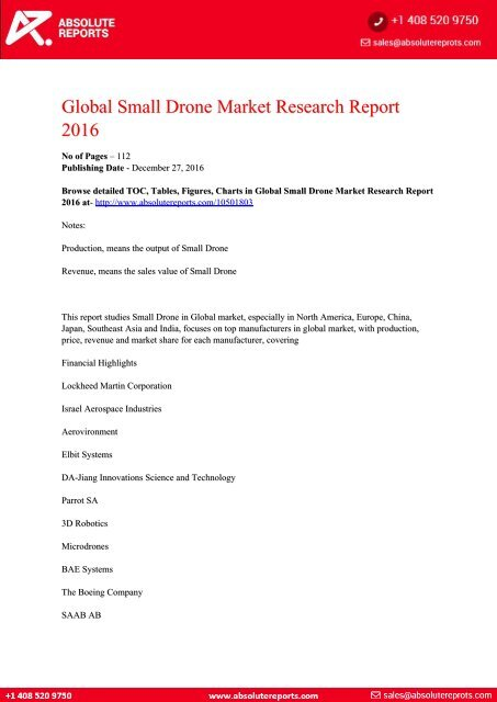 Global-Small-Drone-Market-Research-Report-2016
