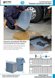 Tampone pig blue
