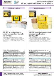 Kit sw 518 1096 litri