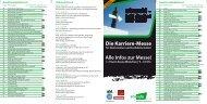 Alle Infos zur Messe! >> Event-Arena München | 9 –16 Uhr - Stuzubi