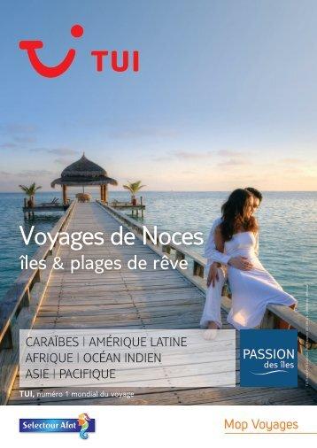 Brochure voyages de noces