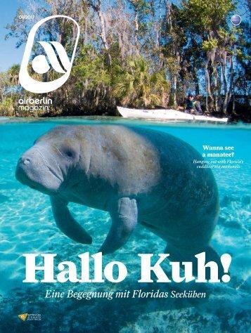 Januar 2017 airberlin magazin - Hallo Kuh!