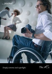 A Masterpiece; Lightness and design in perfect harmony. - Invacare