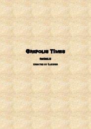 Regels Grepolis Times