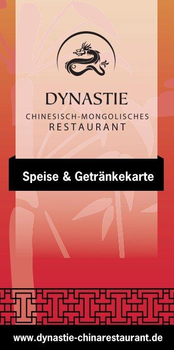 DYNASTIE_Speisen