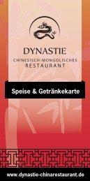 DYNASTIE_Getränke