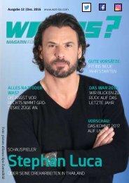 Wat Los? / Ausgabe 12 - 2016