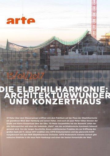15/01/2017 ie Elbphilharmonie Architekturwunder und Konzerthaus