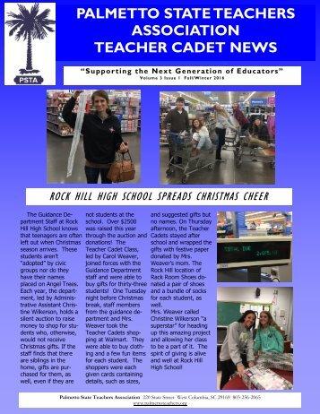 ASSOCIATION TEACHER CADET NEWS