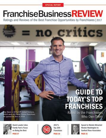Today's Top Franchises 2017 - Franchise Business Review
