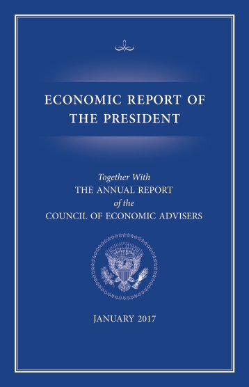 ECONOMIC REPORT OF THE PRESIDENT