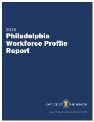 Philadelphia Workforce Profile Report