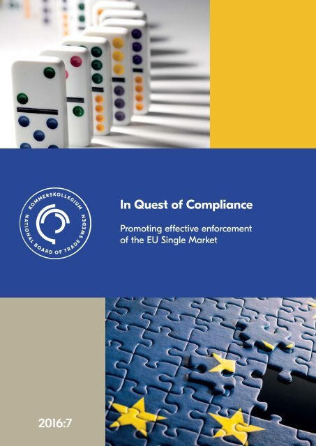 In Quest of Compliance 2016:7