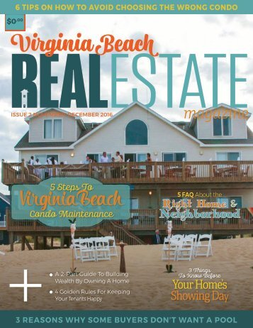 Virginia Beach Real Estate Magazine - November/December 2016